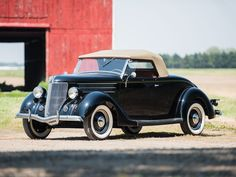 1936 Ford V-8 DeLuxe Roadster- (Ford Motor Company, Dearborn, Michigan 1903-present)