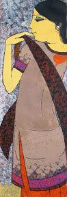 Gallery Pradarshak: On View at Pradarshak: Realistic Figurative Paintings by Rahul Mhetre