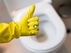 Clogged toilet and no plunger in sight? Don't panic—here are five troubleshooting methods using household items. How To Unclog Toilet, Clogged Toilet, Bathroom Cleaning Hacks, Toilet Cleaning, Cleaning Tips, Clean Toilet Bowl, Sparkling Clean, Amazing Bathrooms, Household Items
