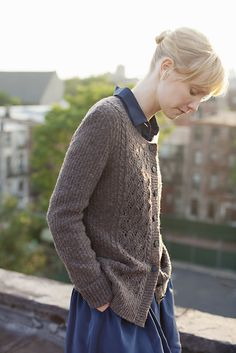 Breckon cardigan from Wool People Vol. 3 - I would make almost everything from this collection!!! Wish you could buy a book of all the patterns.