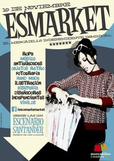 ESMarket Noviembre 2013 Elle Blogs, Retro, Memes, Clothes Hanger, November, Vinyls, Fotografia, Meme, Retro Illustration