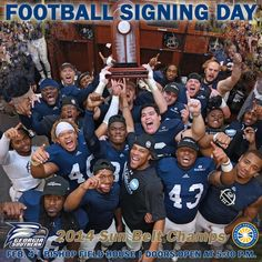 Football Signing Day is Wed! Doors open at 5:30pm at Bishop Fieldhouse. We'll see you there! http://www.gseagles.com/news/2015/1/27/FB_0127150411.aspx …