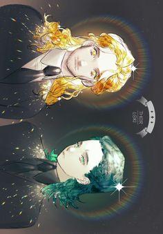 Thor & Loki || Cr: PoRong