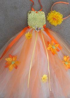 Beautiful long summer tutu dress