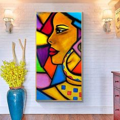 Items similar to African women ethnic Wonder woman Erotic art Art printables Yoga printable art Woman portrait Black woman painting on Etsy Poster Color Painting, Pop Art Drawing, African Art Paintings, Cubism Art, Oil Pastel Drawings, Indian Folk Art, Africa Art, Wonder Woman, Erotic Art