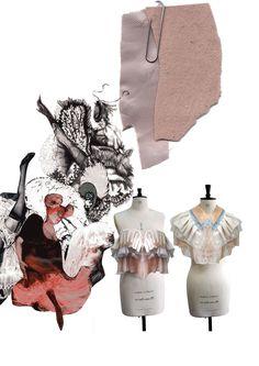 Fashion Sketchbook - fashion design development; fashion collage; fashion portfolio //  Giryung Kim