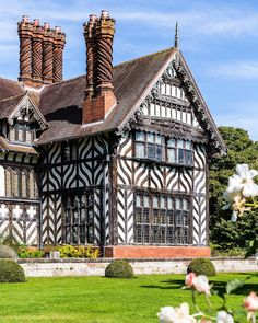 Wightwick Manor house in Wolverhampton, England