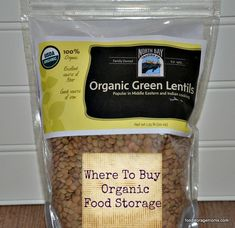 Where To Buy Organic Food Storage by Food Storage Moms