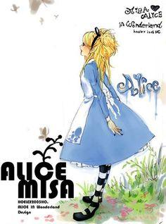 ★【ALICE MISA心夢少女】主插畫。  初設定>>http://blog.yam.com/hoelex/article/569771