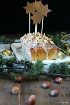 Pound cake de avellanas y limón