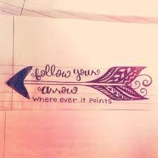 follow your arrow tattoo - Google Search