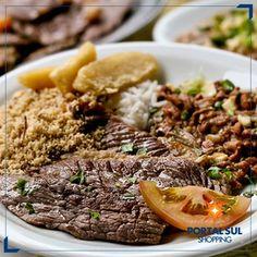 Nossa praça de alimentação oferece o que há de melhor em matéria de gastronomia. Venha saborear ao lado da sua família!  #diversãoénoPortalSul #gastronomiaénoPortalSul #família