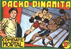 Pacho Dinamita- Colección de 139 números y 5 extras, publicados en 1951-1957 por Editorial Maga