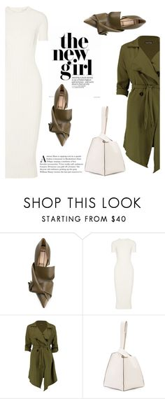 """""""Без названия #7859"""" by bliznec ❤ liked on Polyvore featuring N°21, Helmut Lang, Boohoo and Maiyet"""