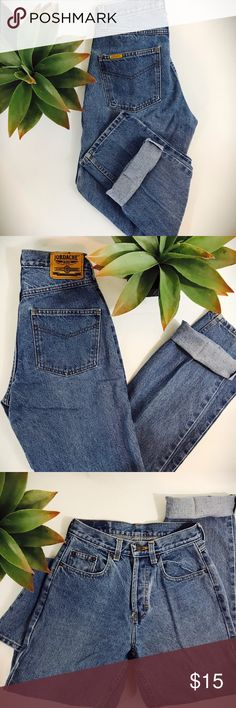 vintage 80s high waisted mom jeans