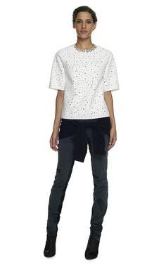 Bonded Matelasse Jacquard T-Shirt by 3.1 Phillip Lim - Moda Operandi