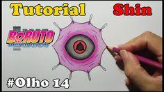 Como Desenhar Olho Mangekyō Sharingan Shin Uchiha - How to Draw Eye Uchi...