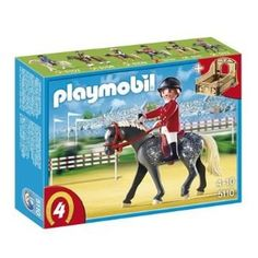 Playmobil Trakehner Horse with Equestrienne and Stable 5110