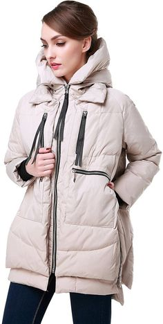 Buy Orolay Women's Thickened Down Jacket (Most Wished &Gift Ideas): Shop top fashion brands Down & Down Alternative at ✓ FREE DELIVERY and Returns possible on eligible purchases Down Parka, Down Coat, Puffer Jackets, Winter Jackets, Coats For Women, Jackets For Women, Mantel, Winter Outfits, Christmas Outfits