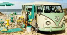 Para os aDoradores de Kombi mais uma foto ... dessa vez foi para a nova campanha Sombra de Coqueiro da Tok & Stok  #praia #camping #summer #beach #kombi #vintage