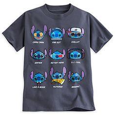 Disney Stitch Tee for Boys Lilo Stitch, Lelo And Stitch, Cute Stitch, Disney Stitch, Pijama Disney, Disney Outfits, Cute Outfits, My Champion, Disney Merchandise