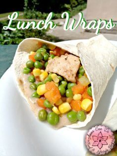 Lunch Wraps and Announcement - Anna Can Do It!