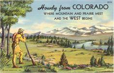 Photos: Our twenty favorite Colorado postcards | Westword