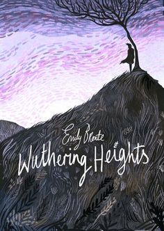 Wuthering Heights by Emily Bronte - book cover desiign by Karl James Mountford