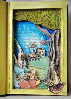 Altered book - inside