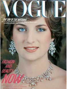 Princess Diana - Vogue Magazine [United Kingdom] (August 1981)
