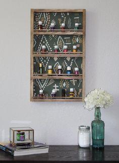 Essential Oil Shelf by LittleSummit on Etsy