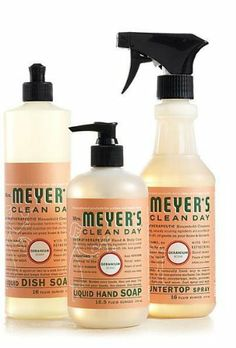 Mrs. Meyer's Clean Day | Meyers cleaning products
