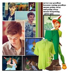 """Round 1 ~Peter Pan, that's what they call me~"" by xxxmakeawish ❤ liked on Polyvore featuring Paul Brodie, Disney, Dolce&Gabbana, CÉLINE, LeiVanKash, Dorothy Perkins and Pieces"
