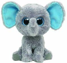 Ty Stuffed Animals   Ty Beanie Boos - Peanut The Elephant6 Inch by Ty - Toy Stuffed Animals