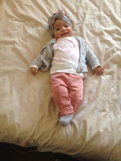 Zahraa dressed by Zara  Baby girl growing up