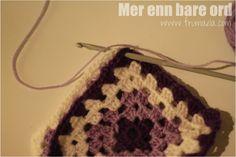Oppskrift på bestemorruter, sammenhekling, kant... | - Mer enn bare ord - Crochet Earrings, Jewelry, Fashion, Jewellery Making, Moda, Jewels, Fashion Styles, Jewlery, Jewerly
