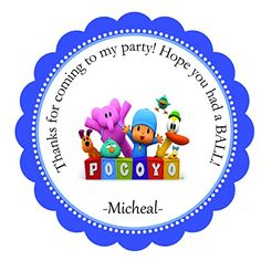 24 Stickers-Each 2.5 inches Pocoyo-Pre-cut Peel and Stick... http://www.amazon.com/dp/B013GPK0VY/ref=cm_sw_r_pi_dp_J32mxb1HN4E4C