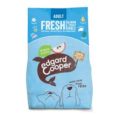 Edgard & Cooper is naturally tasty cat and dog food that you, your pets and our planet can feel good about. Discover our dry food, wet food and treats! Dog Food Recipes, Snack Recipes, Best Protein, Feel Good, Chips, Tasty, Trout, Apple, Snack Mix Recipes