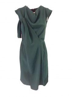 d0cb2e7bc2a6c Hanita Abito Verde Smeraldo - Collezione autunno inverno 2014   abiticerimoniatorino  elegantoufit  hanita