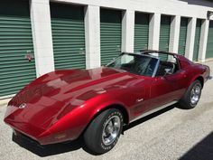 1973 Corvette Stingray Convertible