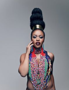 Ono Bello: South African Star Nomzamo Mbatha Bags New Endorsement Deal With L'Oreal Paris SA ________ Read .