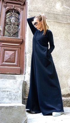 NEW Collection Black Cotton Wide Leg Maxi Jumpsuit /