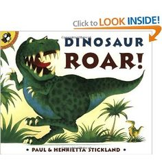 """Dinosaur Roar!"" by Paul Stickland"