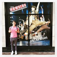 Awww Ben! He looks so happy | NEWSIES SPAM.  YOU ARE ALL WELCOME.