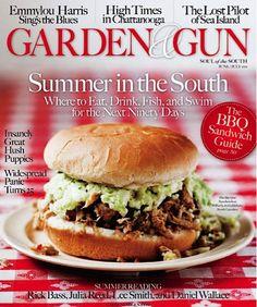 6/16 - Garden & Gun magazine