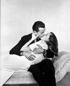 """The Big Sleep"" Humphrey Bogart and Lauren Bacall 1946 Warner Bros."