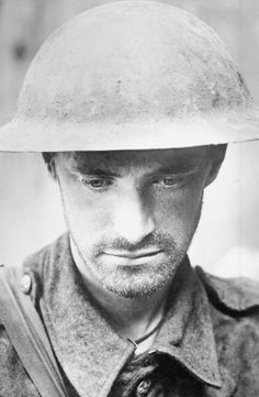 WW1: A rather pensive British laddie caught by the photographer near Mons, undated. Trench warfare was brutal and unforgiving, Hundreds of thousands returned home with what is today identified as Post Traumatic Stress Disorder, yet the literature contains scant information about postwar psychological troubles with violent outcomes. Different times, different people.