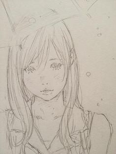 ほら、濡れるから入れよ by Eisakusaku