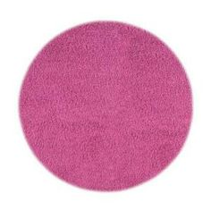 home decorators collection ultimate shag hot pink 5 ft x 7 ft area rug