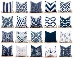 Coral Pillows, Nautical Pillows, White Throw Pillows, Aztec Pillows, Burlap Pillows, Decorative Pillows, Accent Pillows, Coral Living Rooms, Chevron